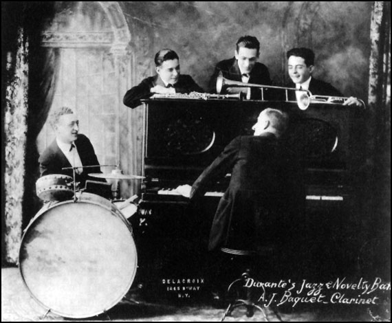 JIMMY DURANTE'S JAZZ BAND picture