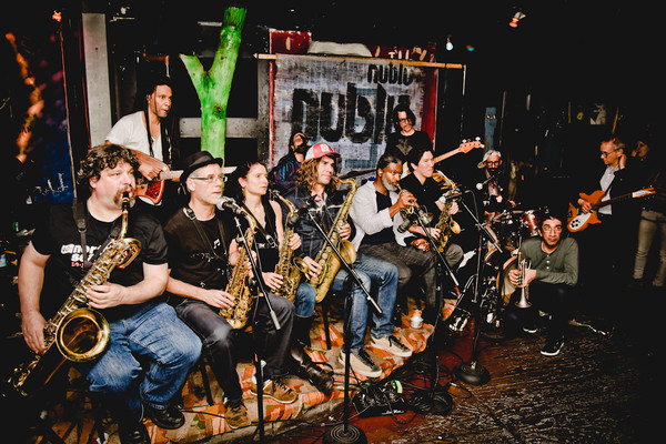 NUBLU ORCHESTRA CONDUCTED BY BUTCH MORRIS picture