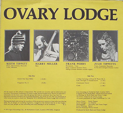 OVARY LODGE picture