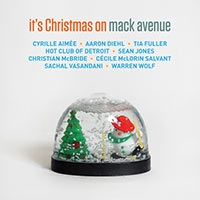 10000 VARIOUS ARTISTS - Its Christmas on Mack Avenue cover