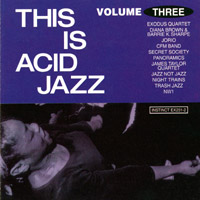 10000 VARIOUS ARTISTS - This Is Acid Jazz Volume Three cover