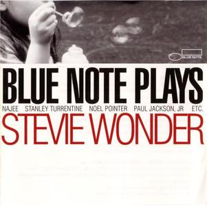 10000 VARIOUS ARTISTS - Blue Note Plays Stevie Wonder cover
