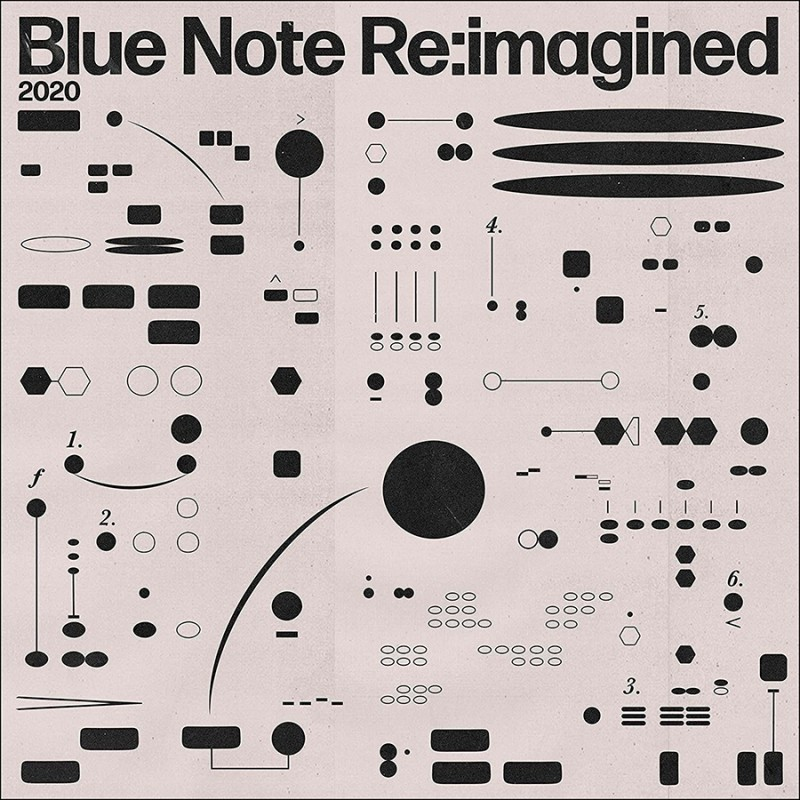 10000 VARIOUS ARTISTS - Blue Note Re:Imagined cover