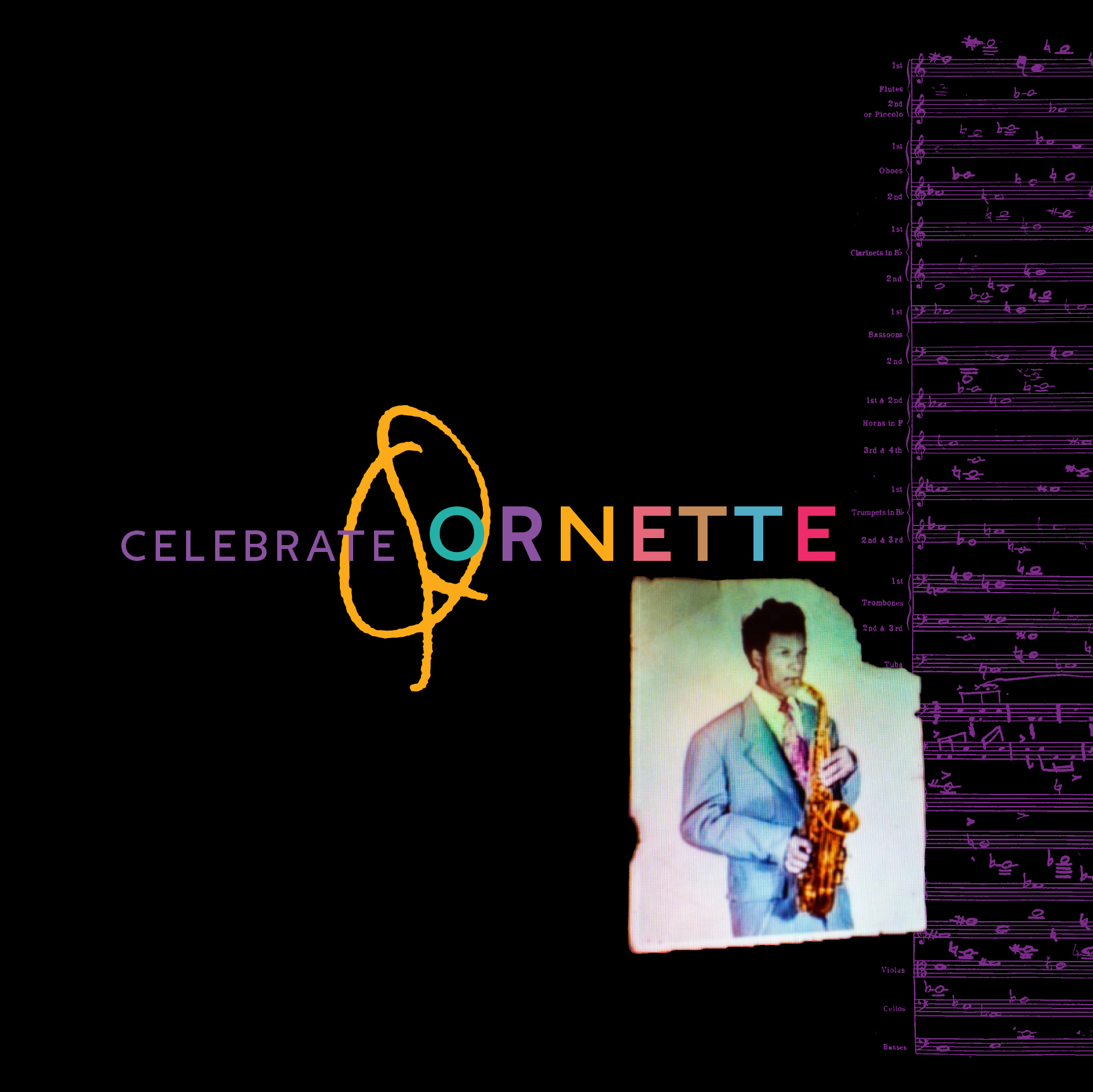 10000 VARIOUS ARTISTS - Celebrate Ornette cover