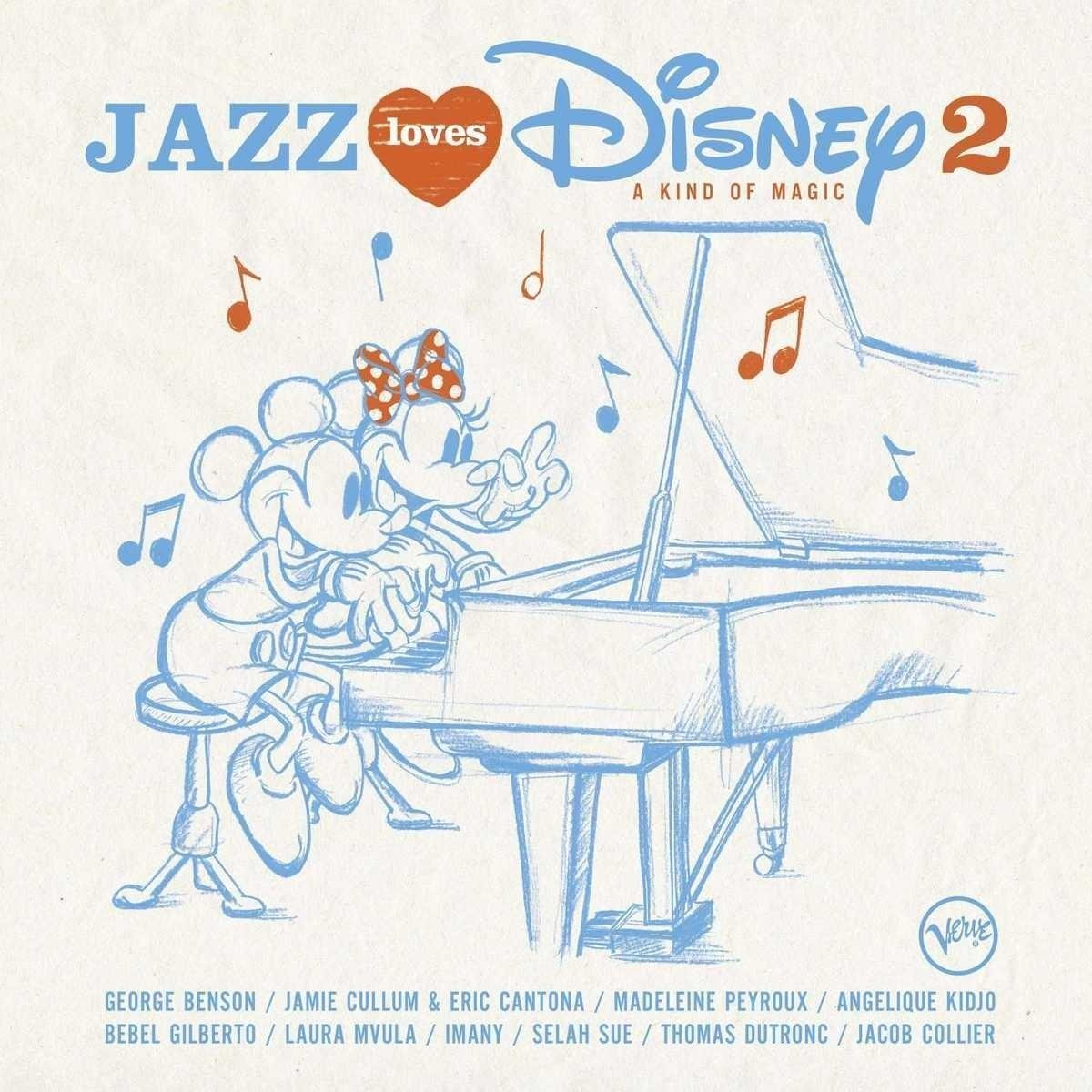 10000 VARIOUS ARTISTS - Jazz Loves Disney 2 - A Kind Of Magic cover