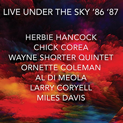 10000 VARIOUS ARTISTS - Live Under The Sky '86 '87 cover