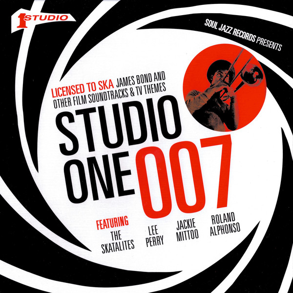 10000 VARIOUS ARTISTS - Studio One 007 : Licensed to Ska cover