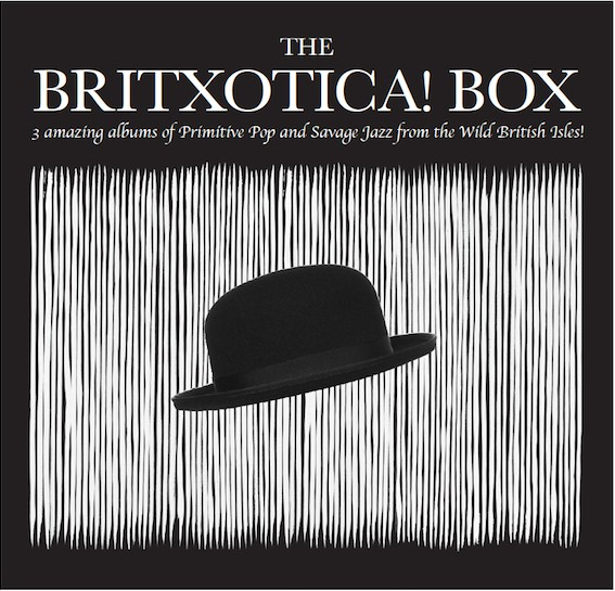 10000 VARIOUS ARTISTS - The Britxotica! Box cover