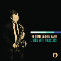 ADAM LARSON - The Adam Larson Band : Listen With Your Eyes cover