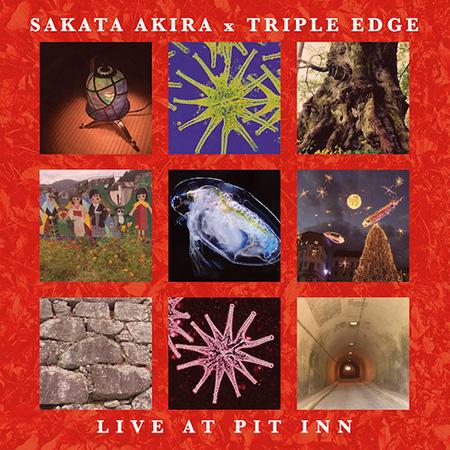 AKIRA SAKATA - Sakata Akira x Triple Edge : Live At Pit Inn cover