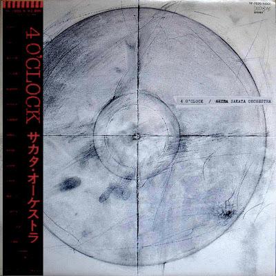 AKIRA SAKATA - Sakata Orchestra : 4 O'Clock cover