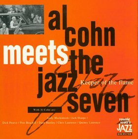 AL COHN - Al Cohn Meets The Jazz Seven: Keeper of the Flame cover