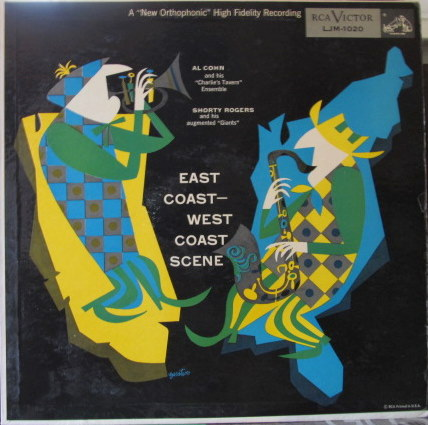AL COHN - East Coast - West Coast Scene cover