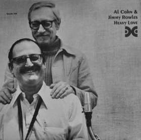 AL COHN - Al Cohn & Jimmy Rowles : Heavy Love cover