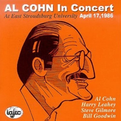AL COHN - In Concert April 17, 1986 cover