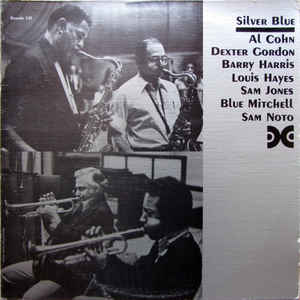 AL COHN - Silver Blue (with Dexter Gordon) cover