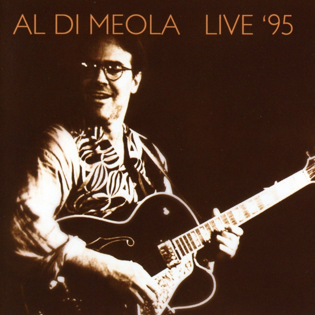 AL DI MEOLA - Live 95 cover