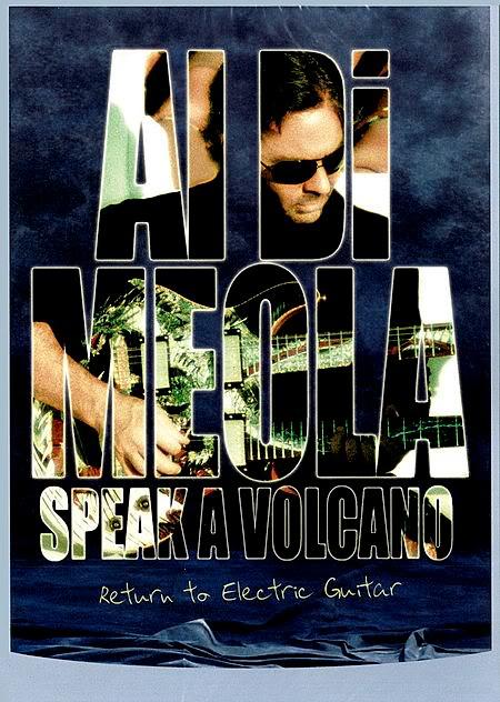 AL DI MEOLA - Speak a Volcano Return to Electric Guitar cover