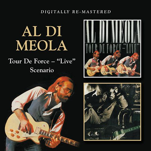 "AL DI MEOLA - Tour De Force – ""Live""/Scenario cover"