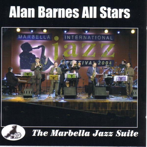 ALAN BARNES - The Marbella Jazz Suite cover
