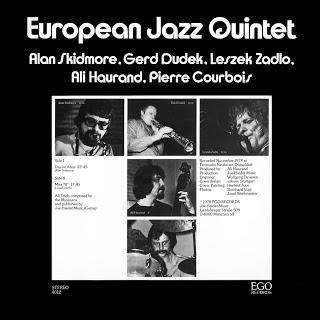ALAN SKIDMORE - European Jazz Quintet cover