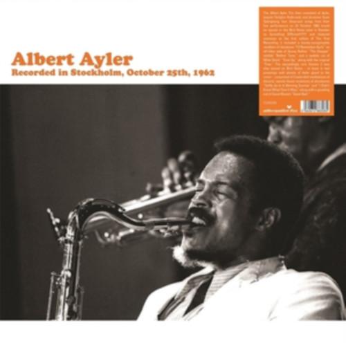 ALBERT AYLER - Recorded In Stockholm cover