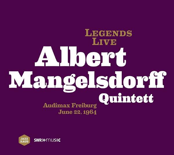 ALBERT MANGELSDORFF - Audimax Freiburg June 22, 1964 cover