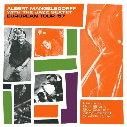 ALBERT MANGELSDORFF - European Tour '57 cover