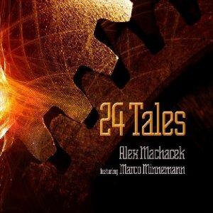 ALEX MACHACEK - 24 Tales cover