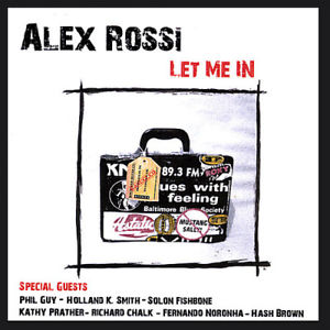 ALEX ROSSI - Let Me In cover