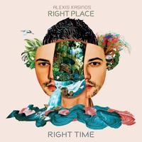 ALEXIS KASINOS - Right Place, Right Time cover