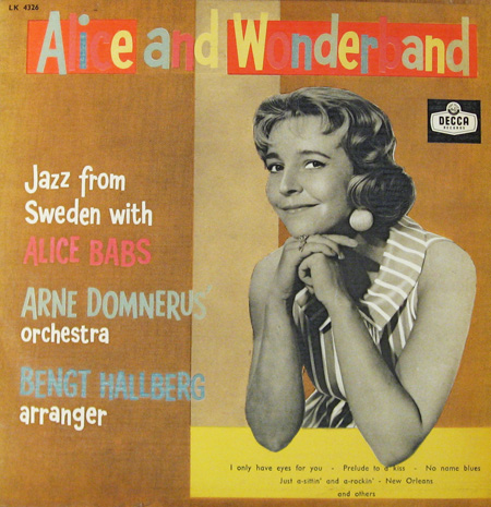 ALICE BABS - Alice And Wonderband cover