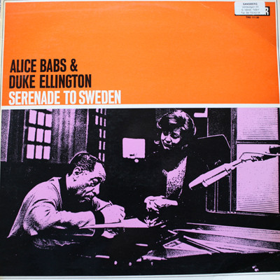 ALICE BABS - Alice Babs & Duke Ellington : Serenade to Sweden cover