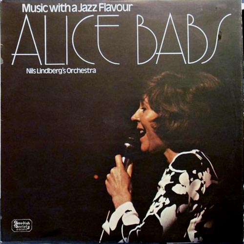 ALICE BABS - Music With A Jazz Flavour cover
