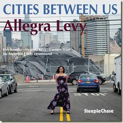 ALLEGRA LEVY - Cities Between Us cover