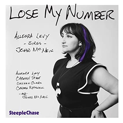 ALLEGRA LEVY - Lose My Number cover