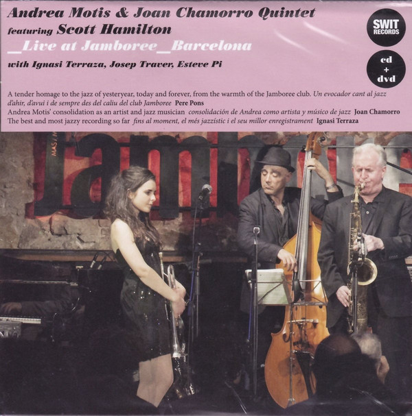 ANDREA MOTIS - Andrea Motis & Joan Chamorro Quintet : Live at Jamboree, Barcelona cover