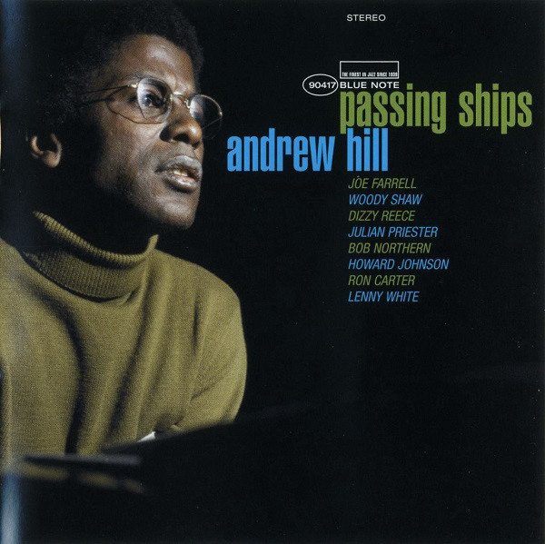ANDREW HILL - Passing Ships cover