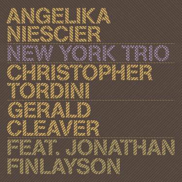 ANGELIKA NIESCIER - New York Trio cover