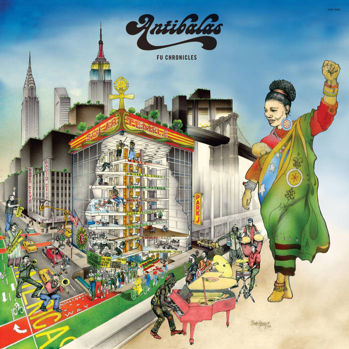ANTIBALAS - Fu Chronicles cover