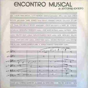 ANTONIO ADOLFO - Encontro Musical cover