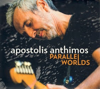 APOSTOLIS ANTHIMOS - Parallel Worlds cover
