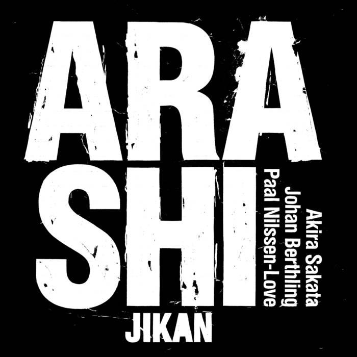 ARASHI - Jikan cover
