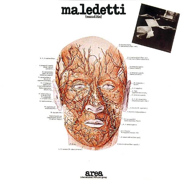 AREA - Maledetti (maudits) cover