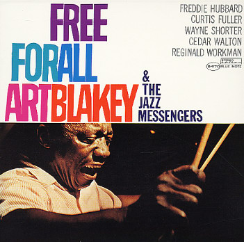 ART BLAKEY - Free For All cover