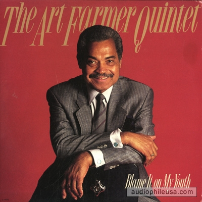 ART FARMER - Blame It on My Youth cover