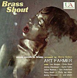 ART FARMER - Brass Shout cover