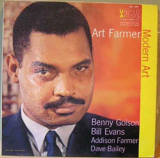 ART FARMER - Modern Art cover