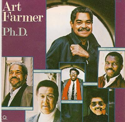 ART FARMER - Ph.D. cover