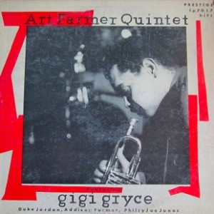 ART FARMER - Quintet with Gigi Gryce (aka Music For That Wild Party aka Evening In Casablanca) cover